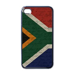 Vintage Flag   South Africa Apple Iphone 4 Case (black) by ValentinaDesign