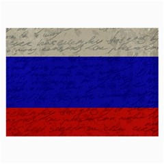 Vintage Flag   Russia Large Glasses Cloth by ValentinaDesign