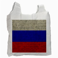 Vintage Flag   Russia Recycle Bag (one Side) by ValentinaDesign