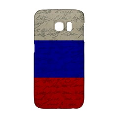 Vintage Flag   Russia Galaxy S6 Edge by ValentinaDesign