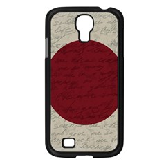 Vintage Flag   Japan Samsung Galaxy S4 I9500/ I9505 Case (black)