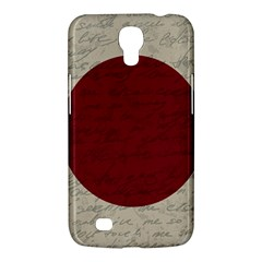 Vintage Flag   Japan Samsung Galaxy Mega 6 3  I9200 Hardshell Case by ValentinaDesign