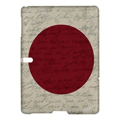 Vintage Flag   Japan Samsung Galaxy Tab S (10 5 ) Hardshell Case  by ValentinaDesign