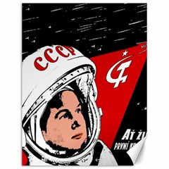 Valentina Tereshkova Canvas 12  X 16   by Valentinaart