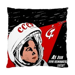 Valentina Tereshkova Standard Cushion Case (two Sides)
