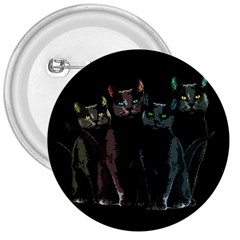 Cats 3  Buttons by Valentinaart