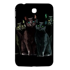 Cats Samsung Galaxy Tab 3 (7 ) P3200 Hardshell Case  by Valentinaart