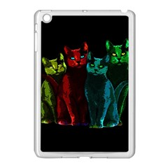 Cats Apple Ipad Mini Case (white)