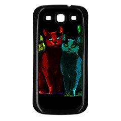 Cats Samsung Galaxy S3 Back Case (black)