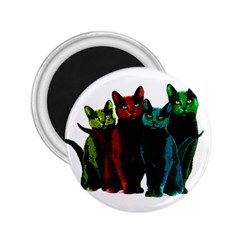 Cats 2 25  Magnets by Valentinaart