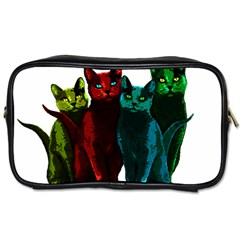 Cats Toiletries Bags 2 Side