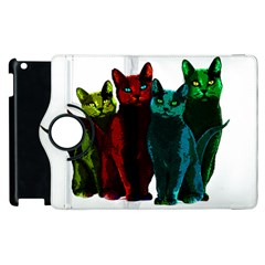 Cats Apple Ipad 2 Flip 360 Case