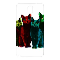 Cats Samsung Galaxy Note 3 N9005 Hardshell Back Case