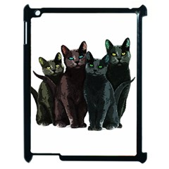 Cats Apple Ipad 2 Case (black)