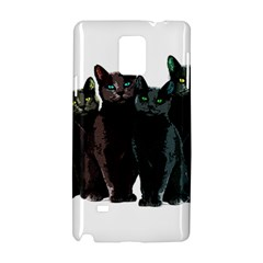 Cats Samsung Galaxy Note 4 Hardshell Case