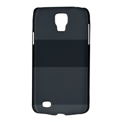 Gray And Black Thick Stripes Galaxy S4 Active by digitaldivadesigns