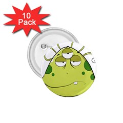 The Most Ugly Alien Ever 1 75  Buttons (10 Pack) by Catifornia