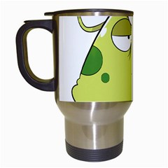 The Most Ugly Alien Ever Travel Mugs (white) by Catifornia