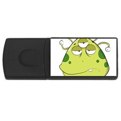 The Most Ugly Alien Ever Usb Flash Drive Rectangular (4 Gb) by Catifornia