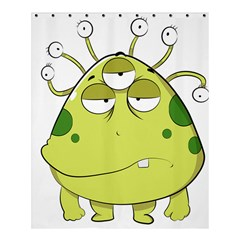 The Most Ugly Alien Ever Shower Curtain 60  X 72  (medium)  by Catifornia