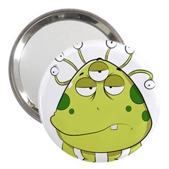 The Most Ugly Alien Ever 3  Handbag Mirrors by Catifornia