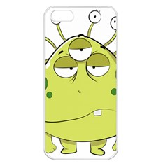 The Most Ugly Alien Ever Apple Iphone 5 Seamless Case (white) by Catifornia
