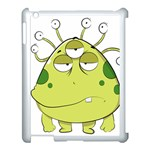 The Most Ugly Alien Ever Apple iPad 3/4 Case (White) Front