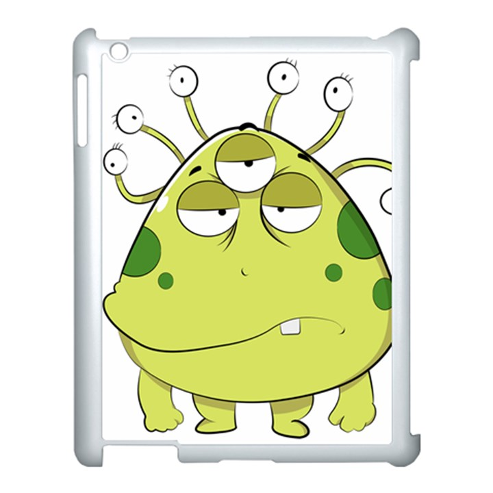 The Most Ugly Alien Ever Apple iPad 3/4 Case (White)