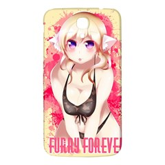 Blonde Hair Bikini Furry Girl Samsung Galaxy Mega I9200 Hardshell Back Case by Catifornia