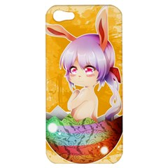 Easter Bunny Furry Apple Iphone 5 Hardshell Case by Catifornia