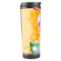 Easter Bunny Furry Travel Tumbler by Catifornia