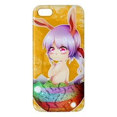 Easter Bunny Furry Iphone 5s/ Se Premium Hardshell Case by Catifornia