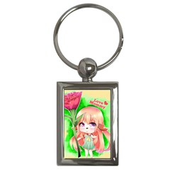 Happy Mother s Day Furry Girl Key Chains (rectangle)  by Catifornia