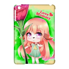 Happy Mother s Day Furry Girl Apple Ipad Mini Hardshell Case (compatible With Smart Cover) by Catifornia