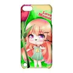 Happy Mother s Day Furry Girl Apple Ipod Touch 5 Hardshell Case With Stand by Catifornia