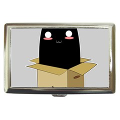 Black Cat In A Box Cigarette Money Cases by Catifornia
