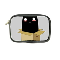 Black Cat In A Box Coin Purse by Catifornia