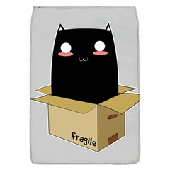 Black Cat In A Box Flap Covers (l)  by Catifornia