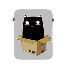Black Cat In A Box Apple Ipad 2/3/4 Protective Soft Cases by Catifornia