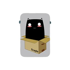 Black Cat In A Box Apple Ipad Mini Protective Soft Cases by Catifornia