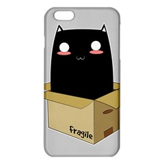 Black Cat In A Box Iphone 6 Plus/6s Plus Tpu Case by Catifornia
