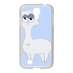 Grumpy Persian Cat Llama Samsung Galaxy S4 I9500/ I9505 Case (white) by Catifornia