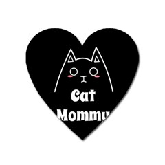 Love My Cat Mommy Heart Magnet by Catifornia