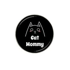 Love My Cat Mommy Hat Clip Ball Marker (10 Pack) by Catifornia