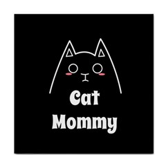 Love My Cat Mommy Face Towel by Catifornia