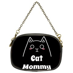 Love My Cat Mommy Chain Purses (one Side)  by Catifornia