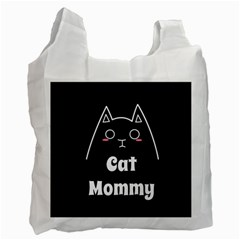 Love My Cat Mommy Recycle Bag (one Side) by Catifornia