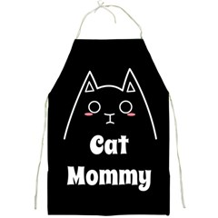Love My Cat Mommy Full Print Aprons by Catifornia