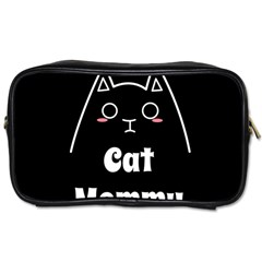 Love My Cat Mommy Toiletries Bags by Catifornia