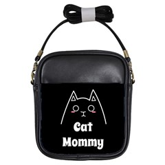 Love My Cat Mommy Girls Sling Bags by Catifornia